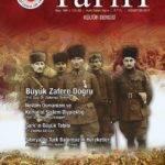 Türk Dünyası Tarih Kültür Dergisi – Ağustos 2017