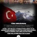 Türk Milletinin Başı Sağolsun!